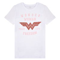 material Girl short-sleeved t-shirts Name it NKFWONDERWOMEN White