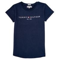 material Girl short-sleeved t-shirts Tommy Hilfiger KG0KG05242-C87 Marine