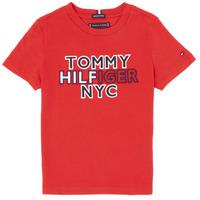 material Boy short-sleeved t-shirts Tommy Hilfiger KB0KB05848-XNL Red