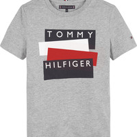 material Boy short-sleeved t-shirts Tommy Hilfiger KB0KB05849-P6U Grey