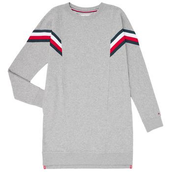 material Girl Short Dresses Tommy Hilfiger KG0KG05283-P6U Grey