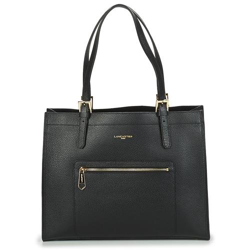 Bags Women Shoulder bags LANCASTER FOULONNE DOUBLE Black