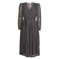 material Women Long Dresses Pepe jeans NIKI Black