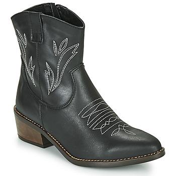 Shoes Women Ankle boots Musse & Cloud TOPY Black