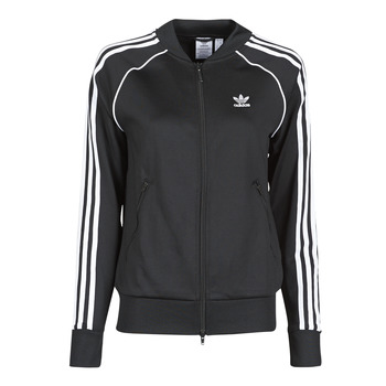 material Women Jackets adidas Originals SST TRACKTOP PB Black