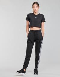 material Women Tracksuit bottoms adidas Originals SLIM PANTS Black
