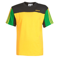 material Men short-sleeved t-shirts adidas Originals CLASSICS SS TEE Yellow
