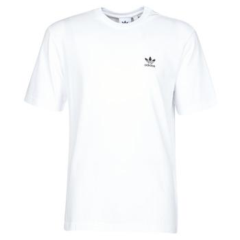 material Men short-sleeved t-shirts adidas Originals B+F TREFOIL TEE White
