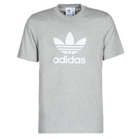 material Men short-sleeved t-shirts adidas Originals TREFOIL T-SHIRT Grey / Medium