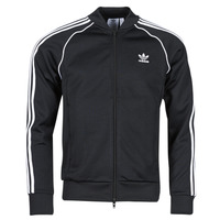 material Men Jackets adidas Originals SST TT P BLUE Black