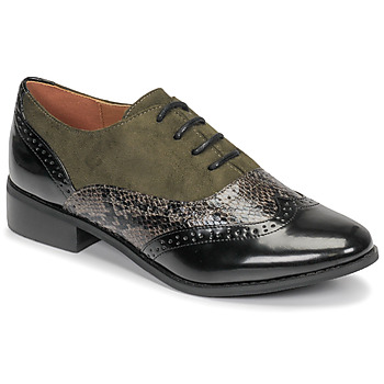 Shoes Women Derby shoes Moony Mood NOULIME Kaki