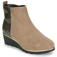 Shoes Women Mid boots Damart 63589 Beige