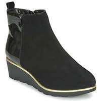 Shoes Women Mid boots Damart 63589 Black