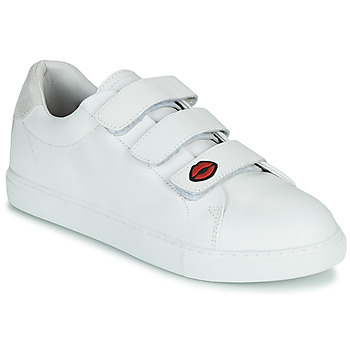 Shoes Women Low top trainers Bons baisers de Paname EDITH LEGENDE White