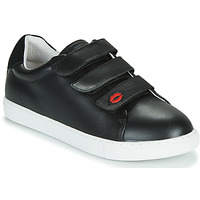 Shoes Women Low top trainers Bons baisers de Paname EDITH LEGENDE Black