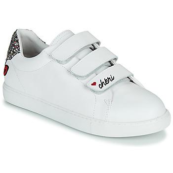 Shoes Women Low top trainers Bons baisers de Paname EDITH CHERI White