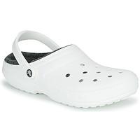 Shoes Clogs Crocs CLASSIC LINED CLOG White