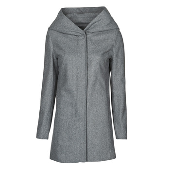 material Women coats Moony Mood NANTE Grey / Dark