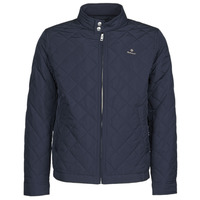 material Men Blouses Gant QUILTED WINDCHEATER Marine