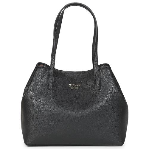 Bags Women Shopper bags Guess VIKKY TOTE Black