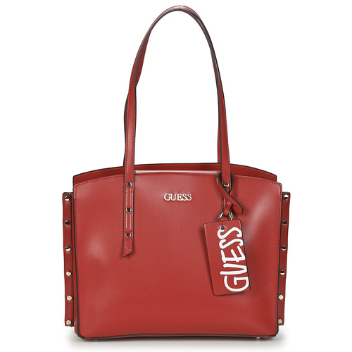 Bags Women Shopper bags Guess TIA GIRLFRIEND CARRYALL Red