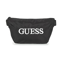 Bags Men Bumbags Guess QUARTO BUM BAG Black