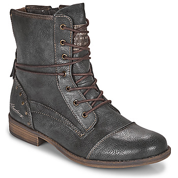 Shoes Women Mid boots Mustang 1157508 Grey