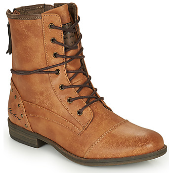 Shoes Women Mid boots Mustang  Camel