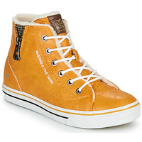 Shoes Children High top trainers Mustang 5056604 Yellow
