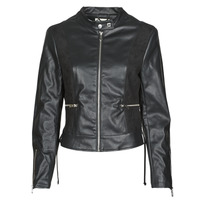 material Women Leather jackets / Imitation leather Kaporal LIVY Black