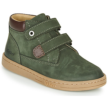 Shoes Boy Mid boots Kickers TACKEASY Kaki