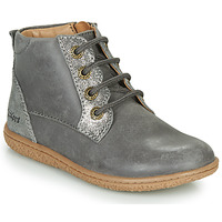 Shoes Girl Mid boots Kickers VETIGO Silver