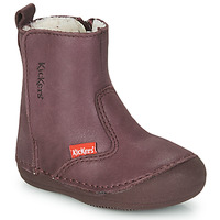Shoes Girl Mid boots Kickers SOCOOL CHO Violet