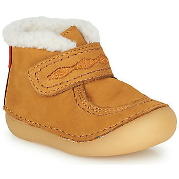 Shoes Girl Mid boots Kickers SOETNIC Camel