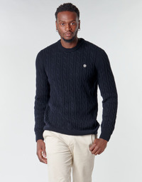 material Men jumpers Timberland LAMBWOOL CABLE Marine
