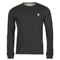 material Men Long sleeved shirts Timberland LS Dunstan River Tee Black