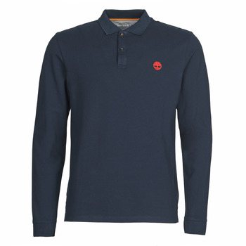 material Men long-sleeved polo shirts Timberland LS MR Polo Slim Marine