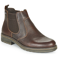 Shoes Men Mid boots IgI&CO UOMO FREDDY GTX Brown