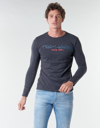 material Men Long sleeved shirts Teddy Smith TICLASS BASIC M Marine