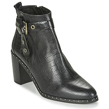 Shoes Women Ankle boots Philippe Morvan BERRYS V1 COCO NOIR Black