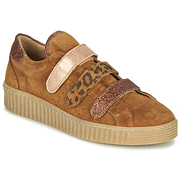 Shoes Women Low top trainers Philippe Morvan ZEUS2 V1 SILKY CAMEL Brown