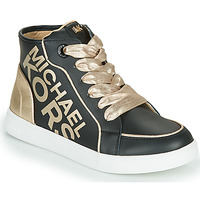 Shoes Girl High top trainers MICHAEL Michael Kors JEM HALEY Black