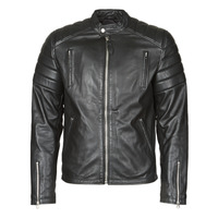 material Men Leather jackets / Imitation leather Schott LC FUEL Black