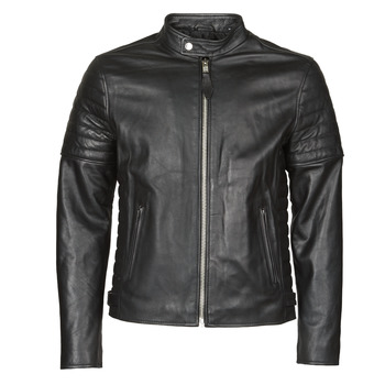 material Men Leather jackets / Imitation leather Schott LCJOE Black