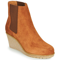 Shoes Women Mid boots Bensimon BOOTS CORTLAND Brown