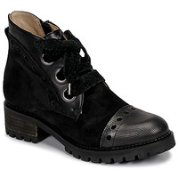 Shoes Women Mid boots Casta MANDA Black