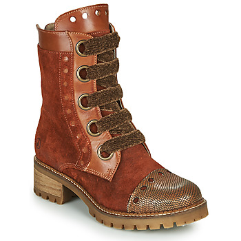 Shoes Women Mid boots Casta MUST Cognac