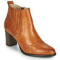 Shoes Women Ankle boots Casta SANTA Cognac