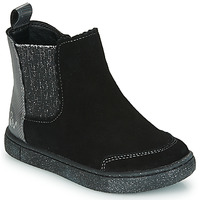 Shoes Girl Mid boots Mod'8 BLANOU Black / Silver