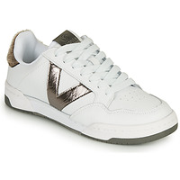 Shoes Women Low top trainers Victoria CRONO PIEL White / Bronze
